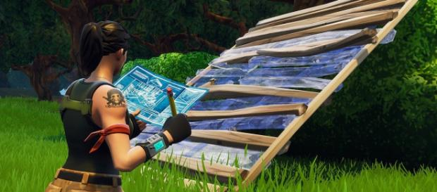 """""""Fortnite Battle Royale"""" building simulator will help you improve your building skills. Image Credit: Epic Games"""