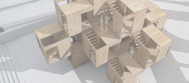 London Design Festival 2018: il padiglione di Ahec e Waygh Thistleton Architets