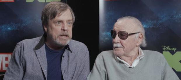 Mark Hamill and Stan Lee will be part of a new 'Avengers' season on Disney XD this fall. - [Image via Marvel HQ / YouTube screencap]