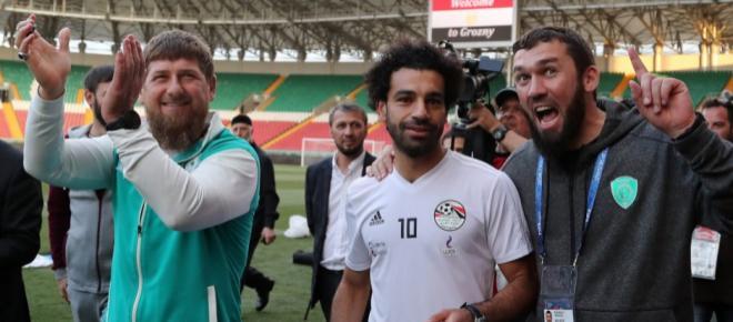 Superstar Mohamed Salah zeigt sich mit tschetschenischem Diktator Ramsan Kadyrow