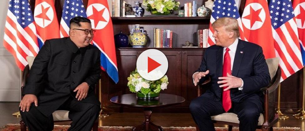 Kim e Trump se encontram em Singapura e assinam acordo histórico por desnuclearização