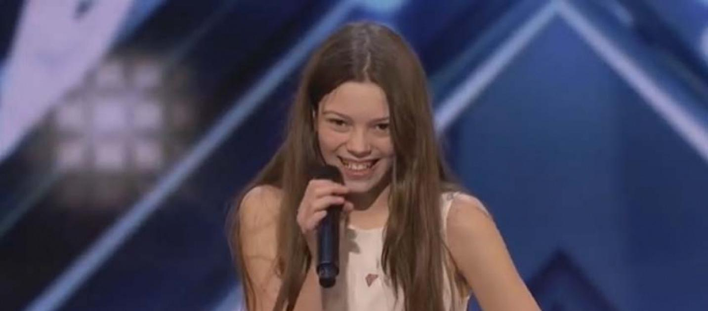 America S Got Talent Judges Amazed By 13 Year Old