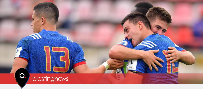 Coupe du monde u20 les fran ais battent la nouvelle z lande - Coupe du monde de rugby u20 ...