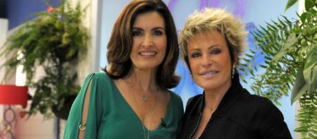 Fátima Bernardes e Ana Maria Braga ficarão alguns dias afastadas da TV