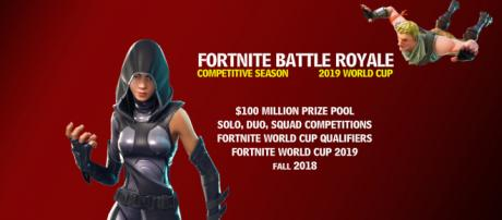 """""""Fortnite Battle Royale"""" competitive season has been announced. Image Credit: Own work"""