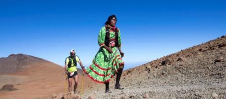 Lorena Ramírez mujer rarámuri gana tercer lugar en ultramaratón