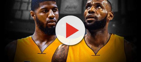 Paul George told TMZ that he loves playing with Lebron.