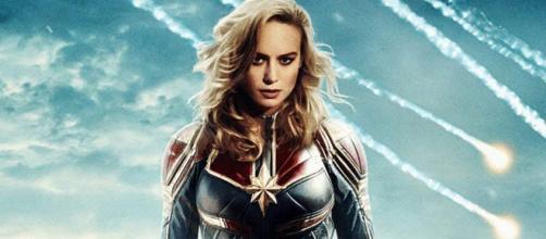 Actress Brie Larson will portray comic book superhero Captain Marvel in the upcoming 2019 film. - [Image via Looper / YouTube screencap]