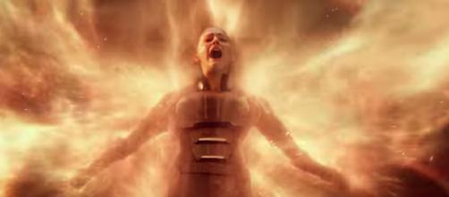 Actress Sophie Turner portrays the character Jean Grey in 'X-Men: Apocalypse' and 'Dark Phoenix.' - [Image via Coolest Clips / YouTube screencap]
