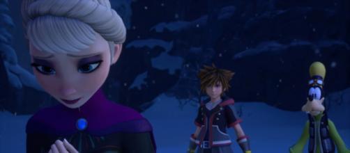 KINGDOM HEARTS III – E3 2018 Frozen Trailer [Image Credit: Kingdom Hearts/YouTube screencap]