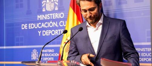 Màxim Huerta en el ministerio de Cultura. Public Domain.