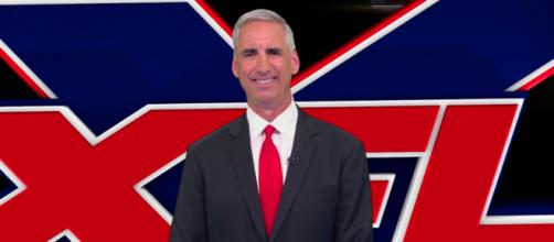 Recently announced XFL commissioner Oliver Luck stands to make a salary of at least $20M, per reports. [Image via XFL/YouTube]