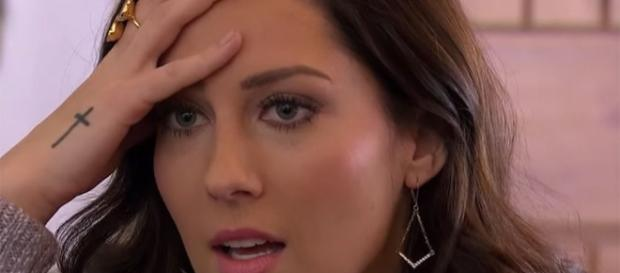 Becca is shocked on 'The Bachelorette' - screenshot