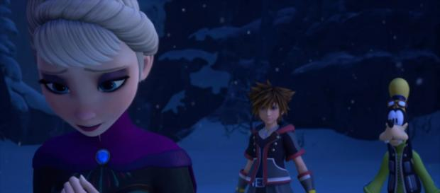 KINGDOM HEARTS III – E3 2018 Frozen Trailer [Image Credit: Kingdom Hearts/YouTube screencap]