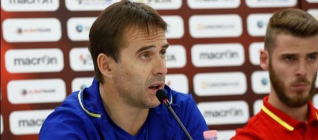 Lopetegui le nouvel entraîneur du Real pourrait bien ramener de Gea avec lui