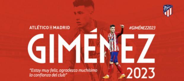 José María Giménez renueva con el Atlético de Madrid hasta 2023