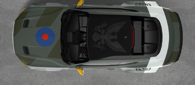 Ford presenta Eagle Squadron Mustang GT, pezzo unico per un'asta di beneficenza
