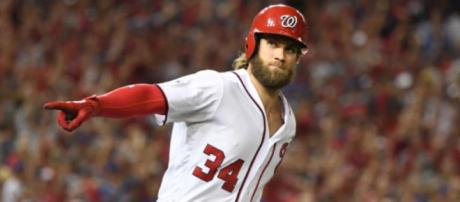 Bryce Harper could be sports' first $40-million a year player. [Image source: USA Today Sports/YouTube]