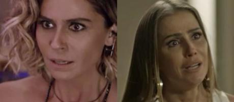 Luzia e Karola, personagens de 'Segundo Sol'