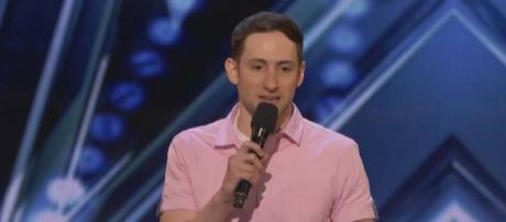 "Samuel J. Comroe is a standup comedian with Tourette syndrome. He wowed the judges on ""America's Got Talent"" [Image America's Got Talent/YouTube]"