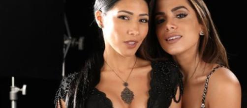 Anitta e Simaria pararam de se seguir nas redes sociais
