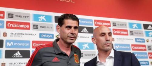 Fernando hierro afirma mantener el esquema de Lopetegui para el debut de España