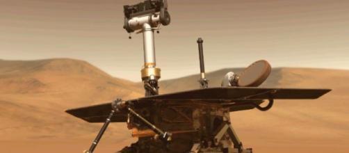 Il rover Opportunity bloccato su Marte da violenta tempesta