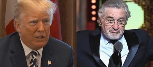 Trump se refiere a Robert De Niro como 'un individuo de coeficiente intelectual muy bajo'