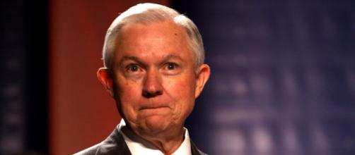 Jeff Sessions has long had a history of touchy race relations (Image source Gage Skidmore - Wikimedia)