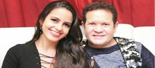 Karen Kethlen Fernandes e Ximbinha em foto postada no Instagram