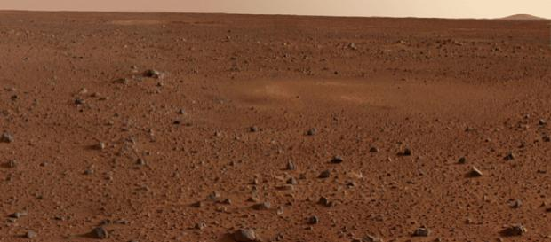 The rocky surface of Mars captured by Mars Exploration Rover Spirit ((Image source - NASA/JPL/Cornell, Wikimedia Commons)