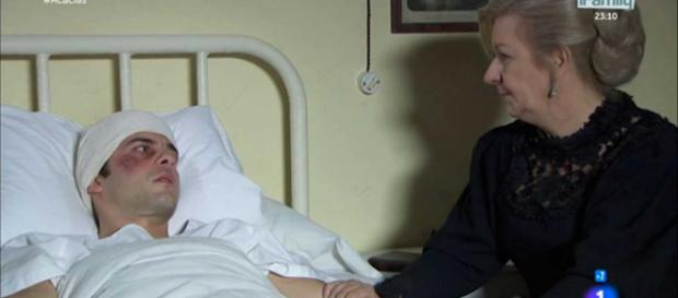 Una Vita: Simon perdona Donna Susana.