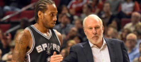 Kawhi Leonard has had enough of the Spurs. [Image via CBS Sports/YouTube]