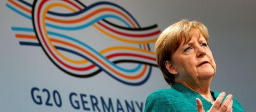 Angela Merkel paró la violencia el 1-O