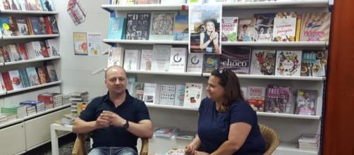 Diego Galdino alla libreria Mondadori di Bari