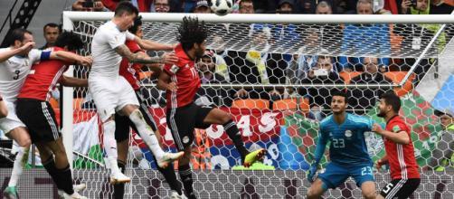 Mundial Rusia 2018: Uruguay gana a Egipto 1-0 con un gol en el último suspiro (Vídeo)