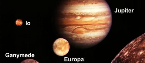 NASA discovers new volcano on Jupiter's moon Io. [image source: ThinkTech Hawaii - YouTube]