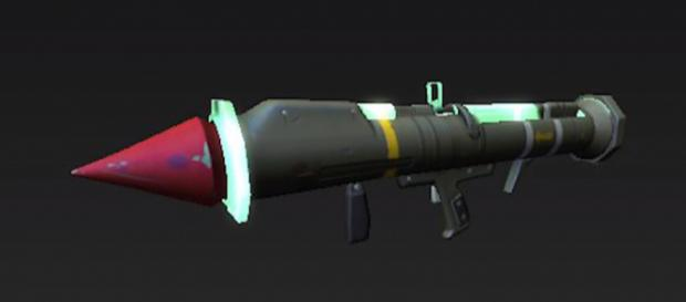 An alleged data mined image of the returning Guided Missile in 'Fortnite.' - [TmarTn2 / YouTube screencap]