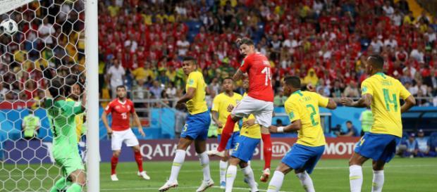 Brasil x Suíça (foto: site fifa.com)