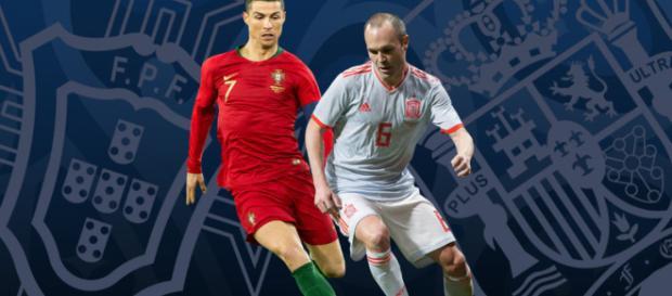 La selección portuguesa empató ante España en su primer partido de la Copa Mundial 2018