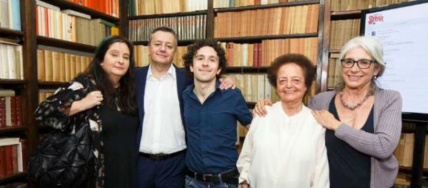 I cinque finalisti del Premio Strega 2018 (foto Musacchio & Flavio Ianniello)