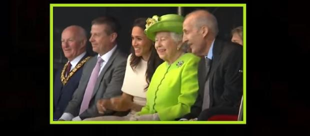 Meghan Markle will work her way up to calling the queen 'Mama.' - [Photo: NBC News / YouTube Screencap]