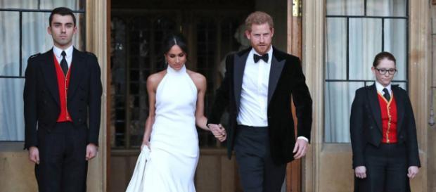 Prince Harry and Meghan (Image via Kengsington Palace/Twitter)