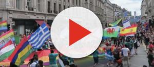 Our first London pride parade. - [TheRoxetera / YouTube Screenshot]