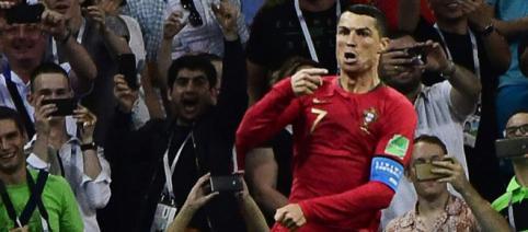 España empata a 3 contra Portugal