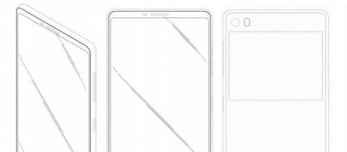Immagine del design mostrato nel brevetto.