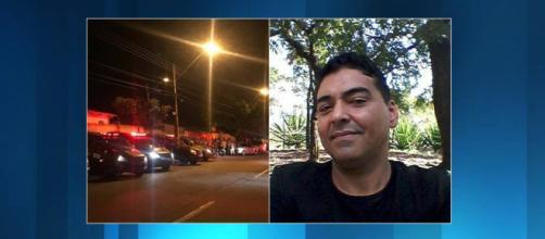 O Policial Dennyo Edno Gonçalves dos Santos foi atingido por 20 tiros. (Foto: Reprodução/Jornal Opção)