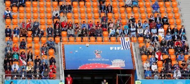 Escasa asistencia al segundo partido del Mundial 2018 y la FIFA abre investigaciones