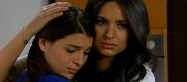 Soledade conhece a mãe em Coração Indomável (Foto: Televisa)