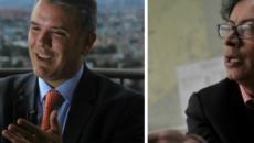 COLOMBIA/ Iván Duque y Gustavo Petro se miden en las elecciones presidenciales